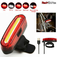Super Bright USB Led Bike Bicycle Light Rechargeable Headlight or Taillight USA
