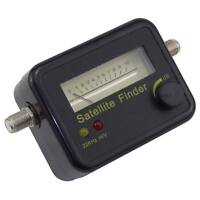 SATELLITE SIGNAL FINDER METER FOR DISH ACCURATE ALIGNMENT SKY FREESAT DIRECTV