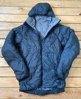 Sierra designs Men's Duck down zip up hooded Puffer Jacket coat size S black