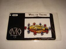 Brand NEW Mage Knight Card -- Nexus # S-102 -- Well of Truth (Sealed)