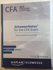 CFA 2019 Program Exam Prep Level 2 Book 4 SchwererNotes
