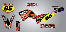 KTM 65 2009 - 2015 Full Graphics kit DIGGER STYLE - stickers decals graphics