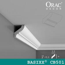 Orac Decor - Wand- und Deckenleisten Eckleiste | CB501 | 200 x 4.1 x 3.5 cm