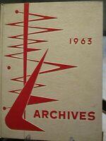 VINTAGE 1963 PORT JERVIS  HIGH SCHOOL YEARBOOK PORT JERVIS,,NEW YORK GOOD COND