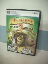 Madagascar Escape 2 Africa (PC, DVD) Computer Game For Windows