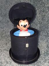 Walt Disney POP PAL Pop Up MICKEY MOUSE Kohner Bros JACK IN THE BOX Toy VINTAGE