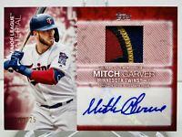 2020 Topps Series 2 MITCH GARVER Major League Material Auto Relic /25