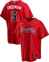 Brand New 2020 Atlanta Braves Freddie Freeman Nike Alternate Replica Team Jersey