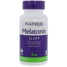 Natrol melatonina tiempo Liberación - 3 Mg-100 tabletas