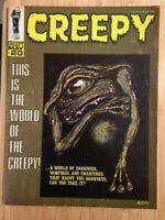 Creepy (1964) #20 Horror Magazine Warren Publishing B&W