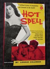 1958 HOT SPELL by Lonnie Coleman AVON T-214 Paperback VF