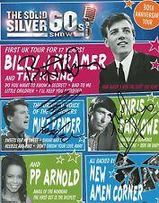 B J KRAMER, M PENDER & C FARLOWE - Multi Signed 10x8 Photograph - MUSIC
