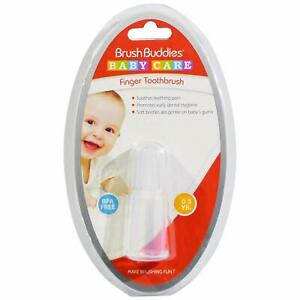 Brush Buddies Baby Care Finger Toothbrush 3 mos-3 Yrs