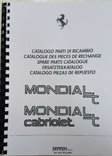 FERRARI MONDIAL T & CABRIOLET PARTS MANUAL REPRINTED