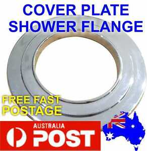 Cover Plate 74mm Chrome Brass Shower Flange round solid Quality