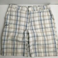 Billabong Men's Check Short's Size 36