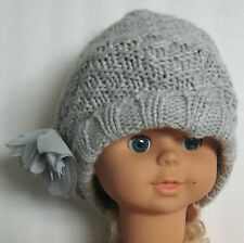 New babyGap Size XS/S (16 inches circumference) New Silver Lake Knit Beanie Hat