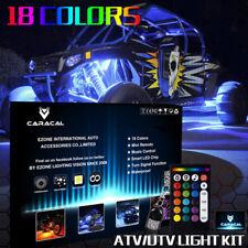 4PC 24'' MILLION COLOR LED UNDER GLOW GOLF CART NEON ACCENT UNDERBODY LIGHT KIT