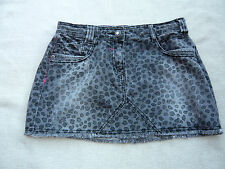 Debenhams Miss Red brand distressed animal print short mini skirt Size 13 yrs