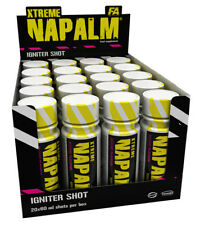 Fitness Authority (FA) XTREME NAPALM 20 x 60ml Energizing Pre-Workout SHOTS
