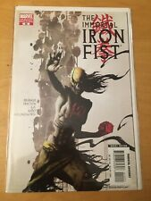 IRON FIST 10, NM (9.4 - 9.6) KAARE ANDREWS ZOMBIE VARIANT, 1ST PRINT, CGC WORTHY