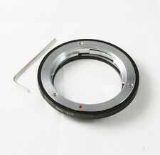 Minolta MD MC SR lens To Olympus 4/3 Four Thirds Mount Adapter E-1 3 30 520 510