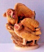 Harmony Kingdom #TJSER99 Tender is the Night-OWL-1999-Timed Ed.-No Box Figurine
