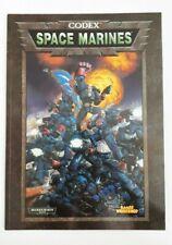 SPACE MARINES: Warhammer 40,000 40K codex (Games Workshop, 2001)