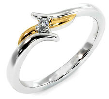 0.25ct Natural I-J Solitaire 14k White Gold Engagement Ring AJ26080074
