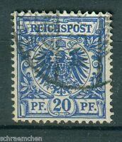 Deutsches Reich 48b , o , geprüft