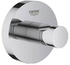 Grohe 40364001 Essentials Robe Hook Wall Mounted Single Polished Chrome