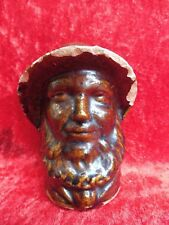 Old Money Box __ Mann With Bart (Sailor) __ French Fayence To 1890__ Original