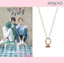 "Stylus Jewelry ""Suspicious Partner"" Korea Drama Eun BongHee 's Necklace 14K P.G"