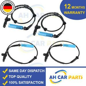 4X PREMIUM OE ABS WHEEL SPEED SENSOR FOR BMW X5 E53 (2000-2006) FRONT AND REAR