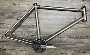 "litespeed Obed 26"" Titanium mountain Bike frame, 19.5 Inch, XTR, Chris King"