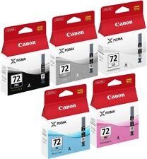 More details for canon pgi-72inkjet cartridge pixma pro pack of 5