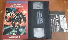 RARE ROBOTECH The New Generation Vol 2 Episodes #65-68 Tatsunoko VHS