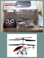 VOLITATION - 3.5 Channel Metal R/C Helicopter Model (FQ777-670-1) BIANCO E ROSSO