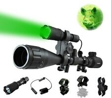 Orion Predator Long Range Hunting Flashlight Light - Red or Green Coyote Hog Fox