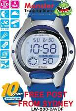 AUSSIE SELLER CASIO WATCHES LW-200-2AVD LW200 LW-200-2 50-METRES 12-MONTH WRNTY