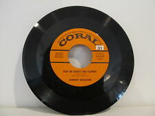 45 RECORD JOHNNY DESMOND- PLATY ME HEARTS AND FLOWERS