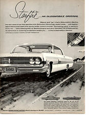 1962 OLDSMOBILE STARFIRE 345-HP  ~  ORIGINAL PRINT AD
