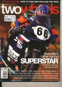 Two Wheels Magazine July 2003 XV1700 Vespa GT200 XV1700 Falco 1000DS S4R Comet