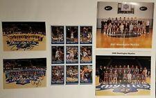 Washington Mystics WNBA 2000-2001 Pictures, Autographs And Basketball Cards