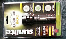 Sunlite LED 51003-SU AAA Tactical Flash Light with Red Laser, Water ResistanT