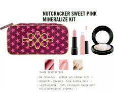 MAC Cosmetics NUTCRACKER Sweet Pink Mineralize Kit Lipstick, Lipgloss, Highlight