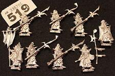 Juegos taller Warhammer Fantasy elfos oscuros guardia Elfo Negro 8 Modelos comando fuera de imprenta