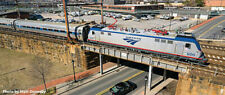 KATO 1068001 N Scale Amtrak Phase VI Acs-64 Locomotive and 4 Passenger Car Set
