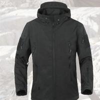 Waterproof Warm Tactical Fleece Men Jacket Hunting Coat Army Windbreaker Outdoor