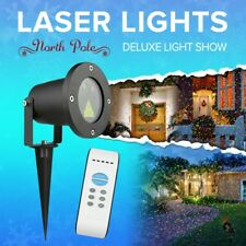 Outdoor Laser Show Waterproof Yard Light Landscape Tree Twinkling Star Spotlight